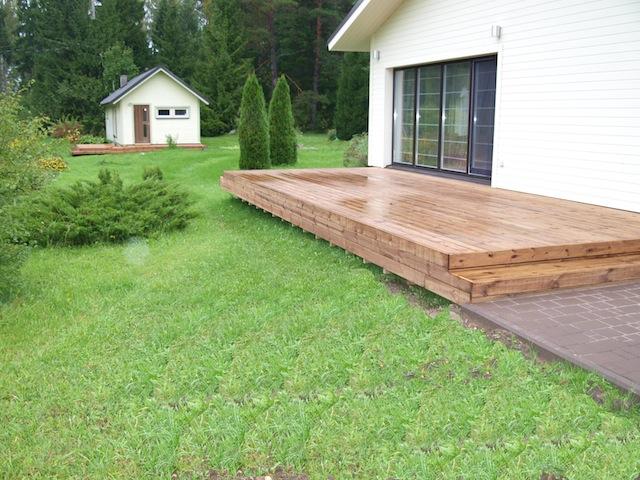 terrasside ehitamine